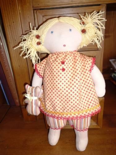 Одежды для вальдорфской куклы